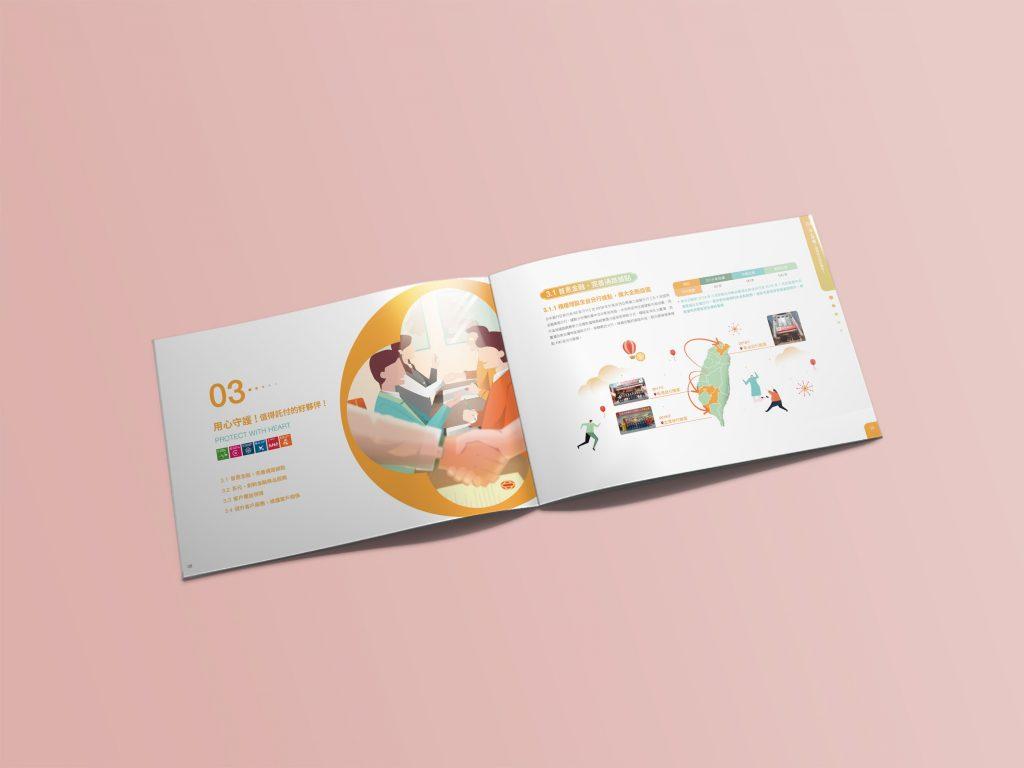 CSR設計_台中銀行企業社會責任報告書_手心設計_5