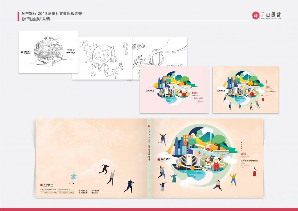 CSR設計_台中銀行企業社會責任報告書_手心設計_8