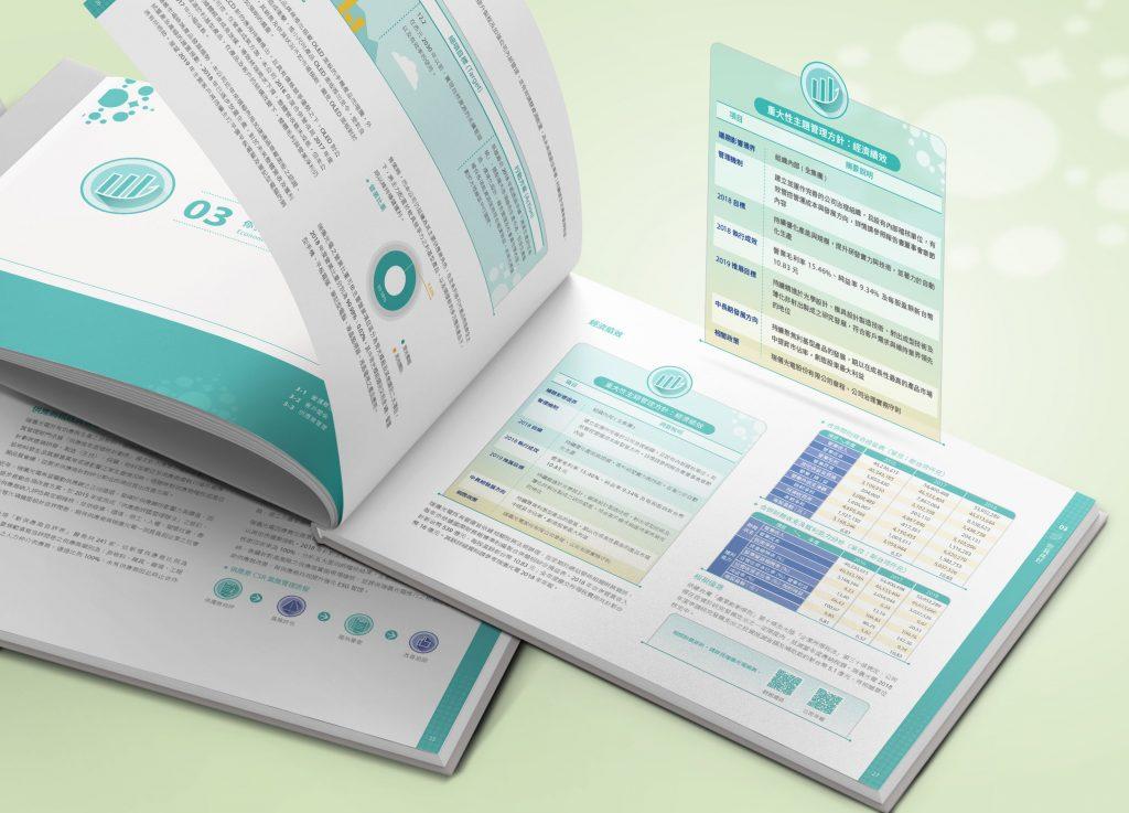 CSR設計_瑞儀光電2018企業社會責任報告書_手心設計_8